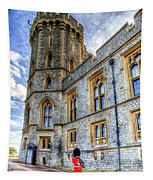 Windsor Castle And Coldstream Guard Tapestry