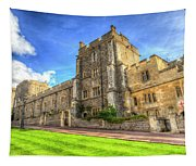 Windsor Castle Architecture Tapestry