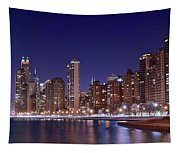Windy City Lakefront Tapestry