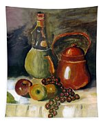 Wine And Fruit Tapestry