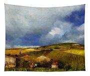 Wine Vineyard Tapestry