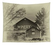 Winery In Sepia Tapestry