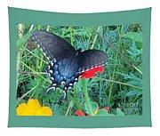 Wing Spread Butterfly Tapestry