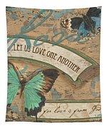 Wings Of Love Tapestry