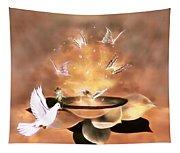 Wings Of Magic Tapestry