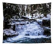 Mill Creek Falls Wv Tapestry