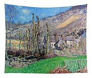 Winter At The Val De Falaise Tapestry