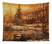 Winter Bliss Tapestry