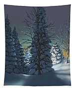Winter Charm Tapestry