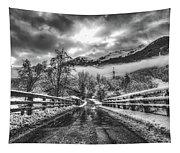 Winter Crossing Tapestry