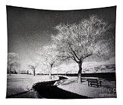 Winter Darkness Tapestry
