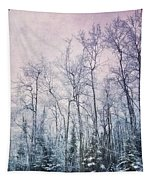 Winter Forest Tapestry by Priska Wettstein