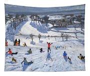 Winter Fun Tapestry