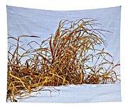 Winter Grasses Tapestry