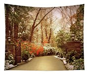 Winter Greets Autumn Tapestry