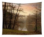 Winter Haze Tapestry