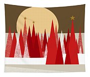 Winter Holiday Tapestry