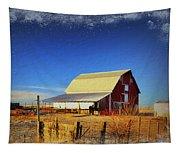 Winter In Floyd Tapestry