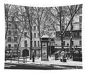 Winter In Paris Tapestry