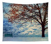 Winter In Peachland Tapestry