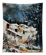 Winter In Vivy  Tapestry