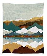 Winter Lake Tapestry