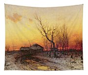 Winter Landscape Tapestry