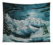 Winter Moon 2 Tapestry