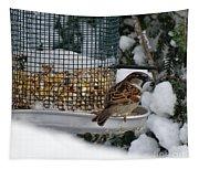 Winter Mornings Tapestry