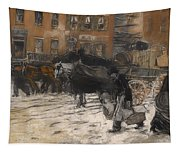 Winter On 21st Street - New York Tapestry