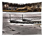 Winter On The Bay Tapestry