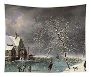 Winter Scene Tapestry