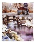 Winter Shelter Tapestry