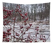 Winter Time Frozen Fruit Tapestry