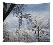 Winter's Arrival Tapestry