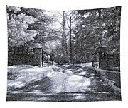 Winter's Gates Tapestry