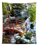 Winter's Goodbye Tapestry