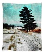 Wintry Altona Road Tapestry