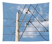 Wired Sky Tapestry
