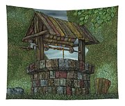 Wishing Well Tapestry