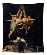 Witches' Flight Tapestry