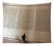 With Malice Toward None With Charity For All -- President Lincoln's Second Inaugural Address Tapestry