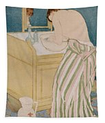 Woman Bathing Tapestry