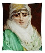 Woman From Constantinople Tapestry