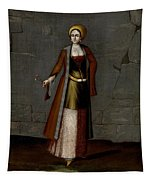 Woman From Tinos Tapestry