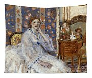 Woman Seated In An Armchair Tapestry