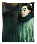 Woman With A Veil Tapestry