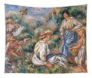 Women In A Landscape Tapestry