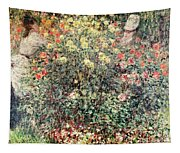 Women In The Flowers Tapestry