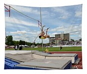 Womens Pole Vault 2 Tapestry